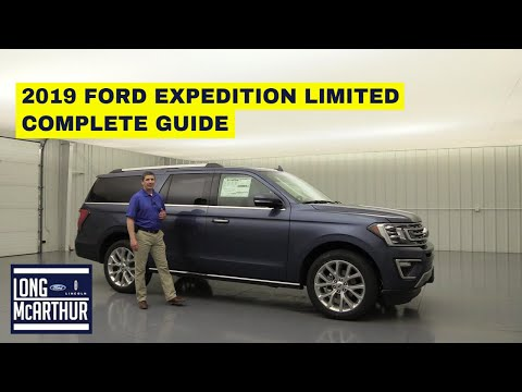 2019 FORD EXPEDITION LIMITED COMPLETE GUIDE STANDARD AND OPTIONAL EQUIPMENT