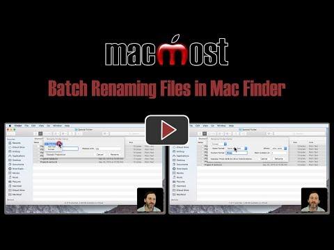 Batch Renaming Files in Mac Finder (#1651)