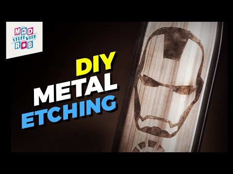 How to Etch on Metal Using Salt Water