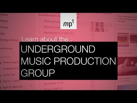 Join The Underground Music Production Group