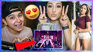 INSTAGRAM MODEL! REACTS TO BLACKPINK FOR THE FIRST TIME!!!!!