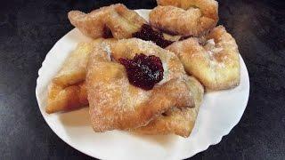 Csöröge fánk, Vyprážané fánky, Fried Donuts