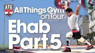 Mohamed Ehab 190kg Clean & Jerk, 240kg Squat ATG on Tour in Egypt Part 5 of 7 Wednesday Afternoon