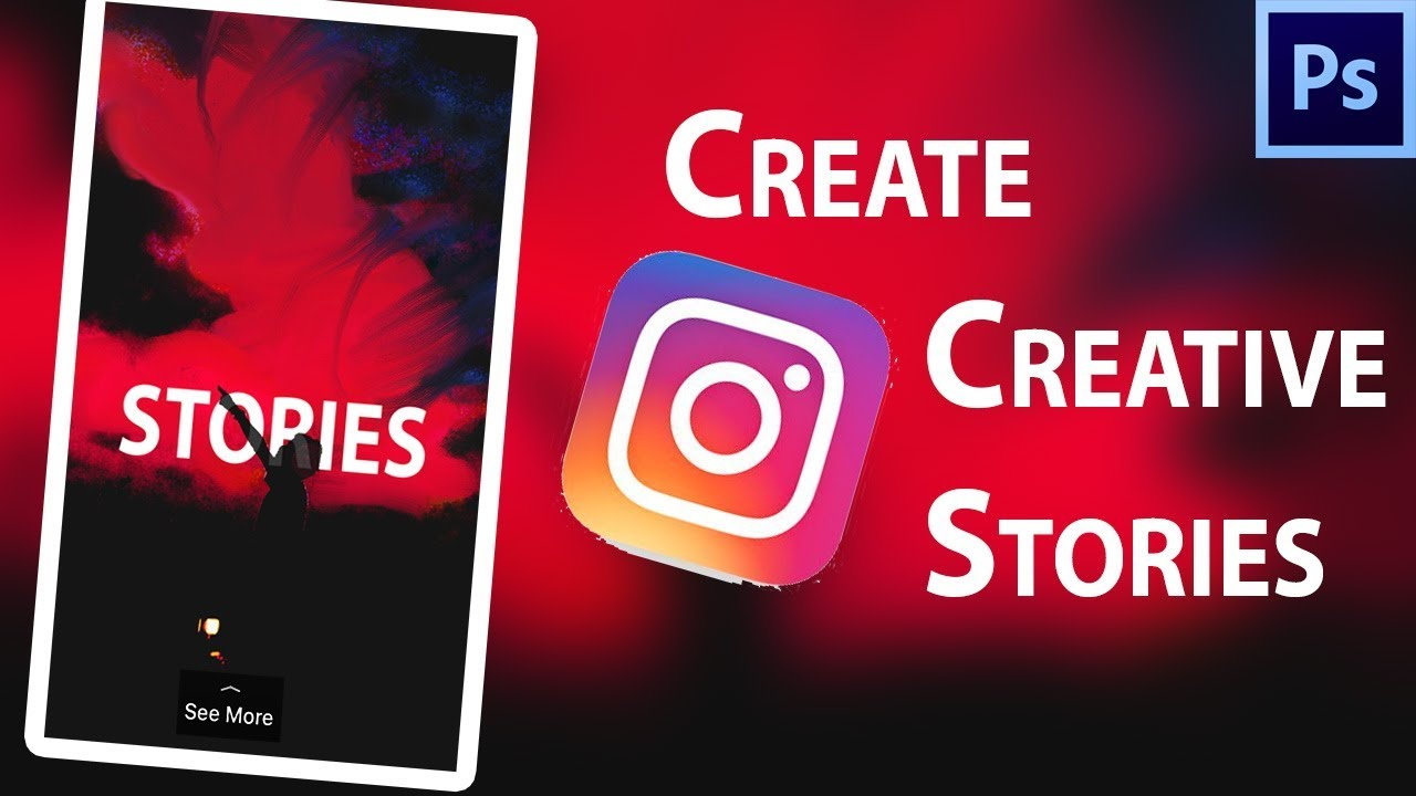 How To Make CUSTOM INSTAGRAM STORIES ADS Professionally In - Instagram ad template