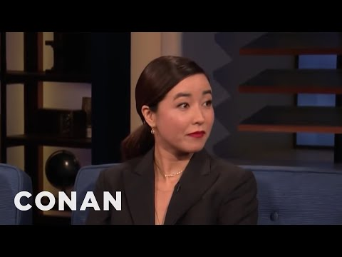 Maya Erskine: My Mom Is Thirsty For The Followers - CONAN on TBS
