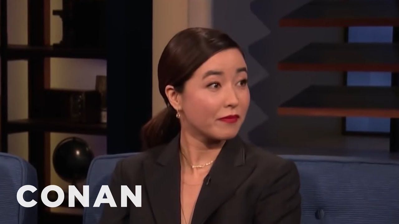 Maya Erskine: My Mom Is Thirsty For The Followers - CONAN ...