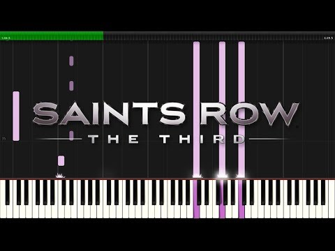Saints Row: The Third - kill-deckers.exe (track04) | Synthesia Piano