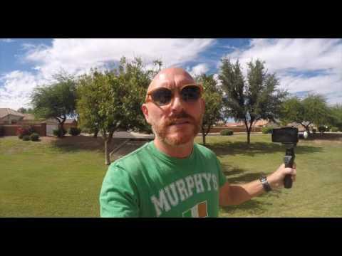 Osmo Mobile Review! Moondog Anamorphic, iPhone 6. WOWZERS!