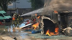 Important incendie au Blanc-Mesnil | AFP Images