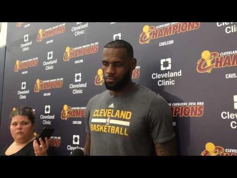 LeBron James learned a lot about the Pistons last season, reveals plans for time off (video)