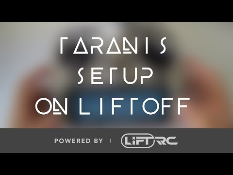 how to use taranis x9d plus on drl simulator