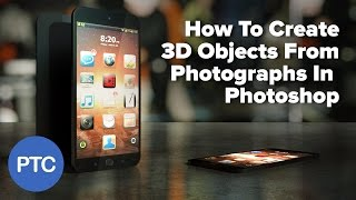 How To Create 3D Objects From Photos in Photoshop