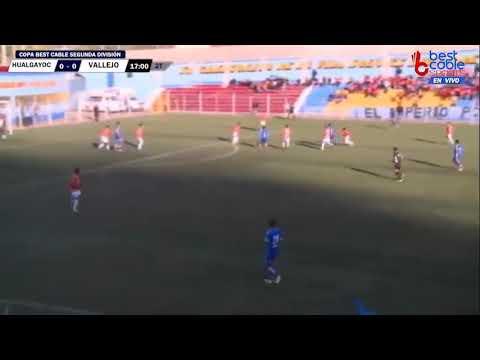 Deportivo Hualgayoc 1-0 César Vallejo Segunda Profesional (el Gol de Hualgayoc)