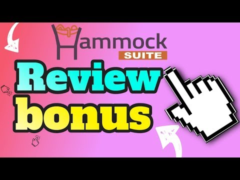 Hammock Suite Review Plus Bonuses  Hammock Suite Review  Dont Buy Without These Bonuses