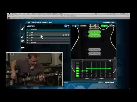 The Music Man Game Changer Bass Demo