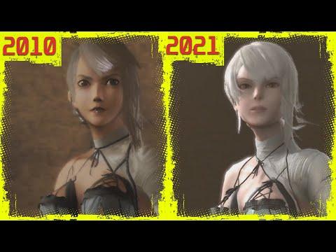 Сравнение оригинальной и обновленной версии NieR: Replicant