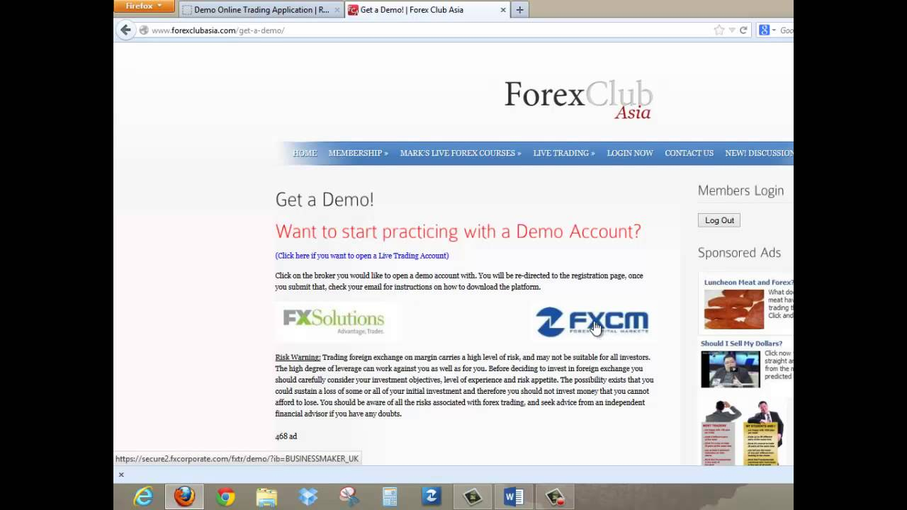 FXCM broker - Forex Account Rebates and Special Offers