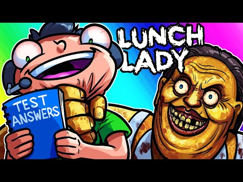 Lunch Lady Funny Moments - Stealing Answers to the Test!