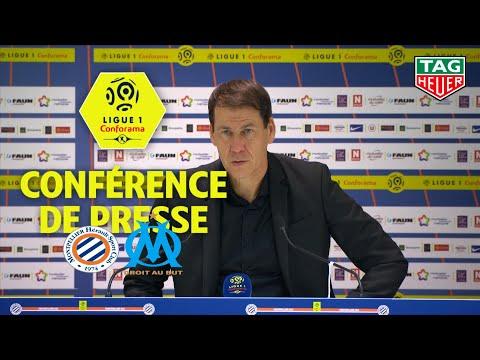 Conférence de presse Montpellier Hérault SC - Olympique de Marseille ( 3-0 )  / 2018-19
