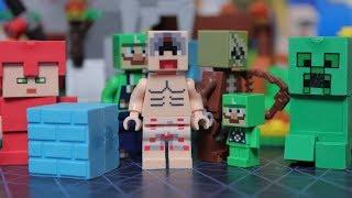 MINECRAFT БЕЗУМИЕ ЛЕГО 2: Голый мужик и Зомби пират