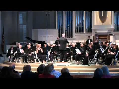 """Waltzing Dervish"" for Wind (powered) Ensemble - Keane Southard (Encore Wind Ensemble)"