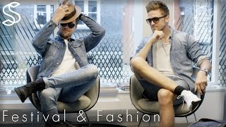 Festival Essentials ★ Fashion & Style★ How to dress & pack a back for the best festival experience