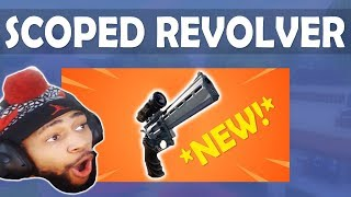 NEW SCOPED REVOLVER IS LIT!