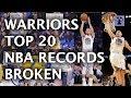 Golden State Warriors Top 20 NBA Records Broken