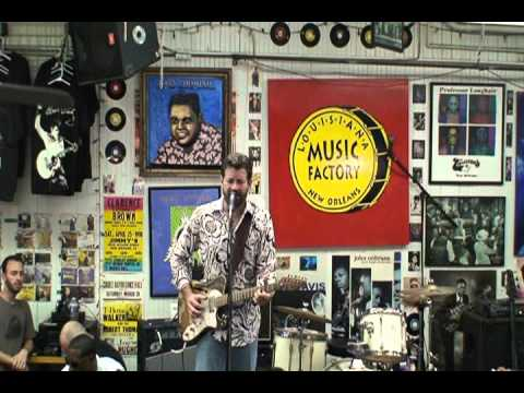 Tab Benoit @ Louisiana Music Factory JazzFest 2011 - PT 2