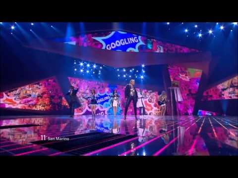 Eurovision 2012 San Marino HD: Valentina Monetta - The Social Network song.