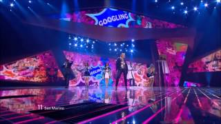Eurovision 2012 San Marino HD: Valentina Monetta - The Social Network song.
