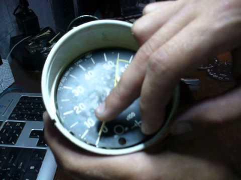 Разборка приборов ваз 2106