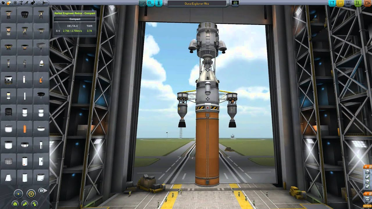 kerbal how to return from duna