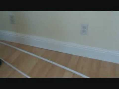 Attaching A Trim Piece To A Hardwood Floor Dont Do It Youtube