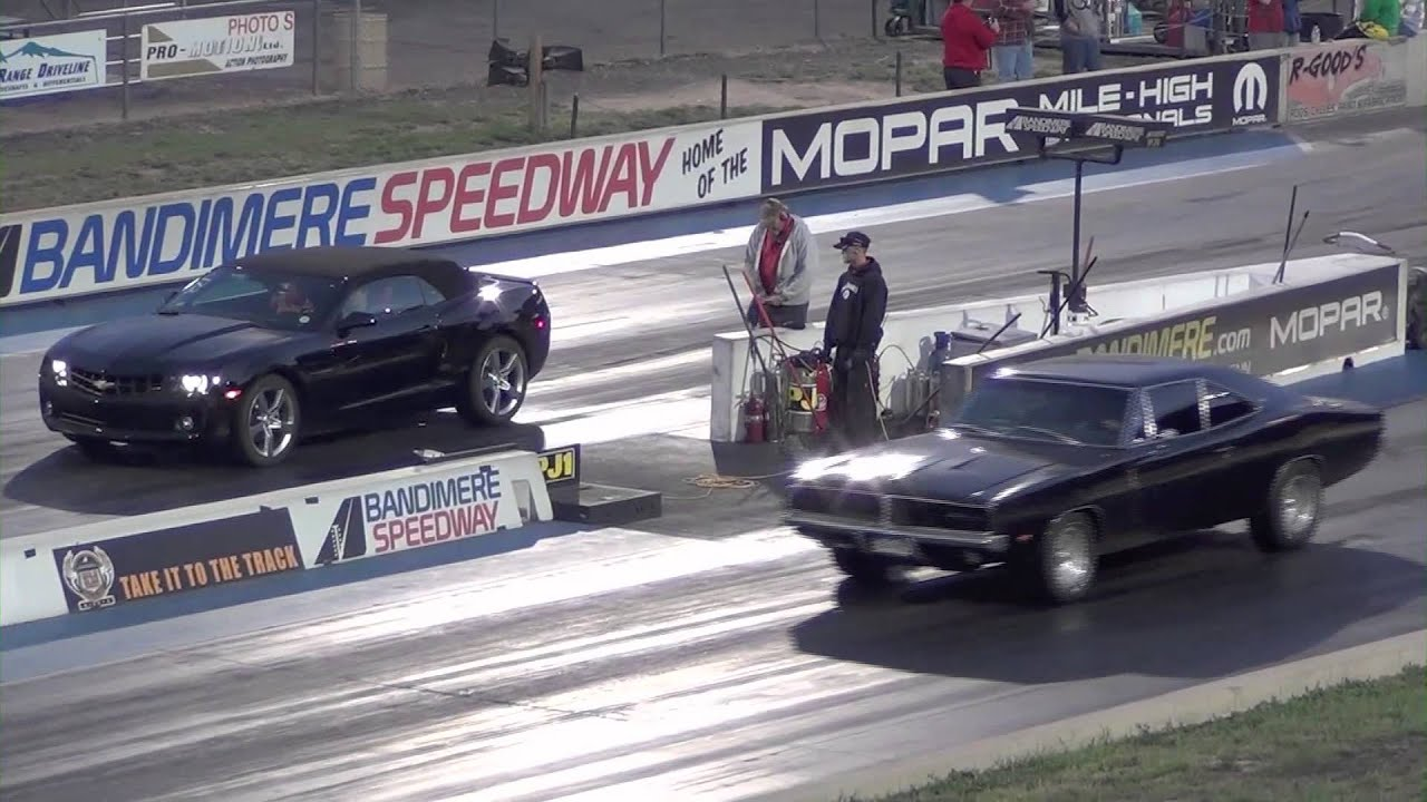 1969 Dodge Charger Rt Quarter Mile Run Youtube