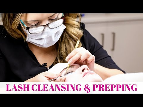 FREE Lash Cleansing and prep Video & Eyelash Extensions Online Course Q & A