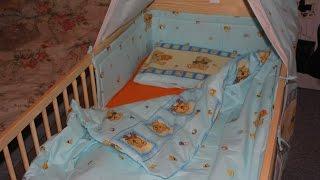 """Собираем детскую кроватку с """"сюрпризом"""""""