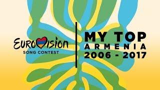 Eurovision Song Contest – Top of Armenia 2006-2017