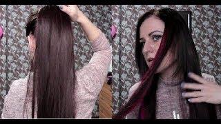 Волосы на заколках и хвост c Aliexpress. Oksana Cap