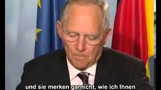 Schäuble kann ja so freundlich sein  - Werbevideo für Reisepass mit RFID und Fingerabdruck