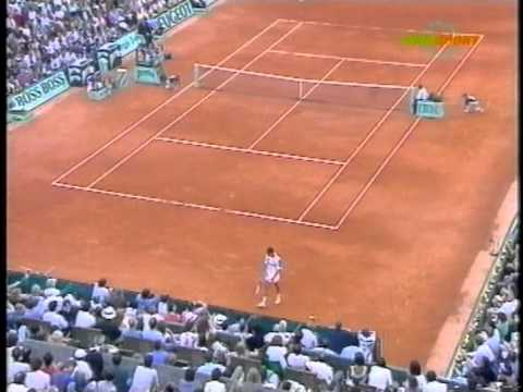 FRENCH OPEN FINAL 1993 - JIM COURIER VS. SERGI BRUGUERA