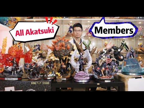 All Main AKATSUKI Members Statues In Naruto, SHOWCASING.