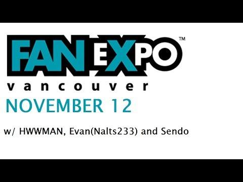 Fan Expo Vancouver 2017 w/Sendo