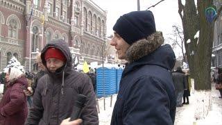 На митинги в центре Киева идут за 75 грн