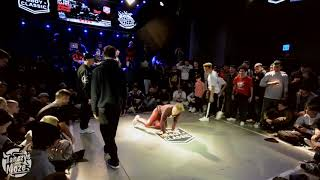 World Bboy Classic Italy 2019  | Bboying 2vs2 Top16 | Sapa & Kangur vs Movycube & Alis
