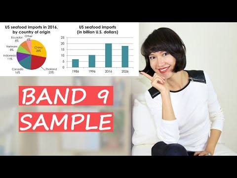 Full IELTS Academic Writing Task 1 SAMPLE ESSAY Band 9 | Bar Chart + Pie Graph
