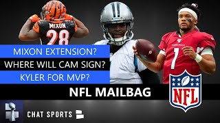NFL Rumors Mailbag: Cam Newton Free Agency? Joe Mixon Extension? Kyler Murray 2020 NFL MVP?
