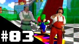 Super Mario 64 Multiplayer #03 - A Competição Astral dos Irmãos Mário.