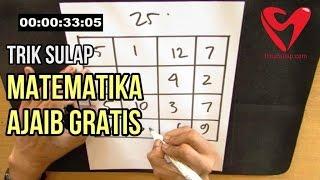 Trik Sulap Angka Matematika Ajaib - Magic Square Gratis Rahasianya