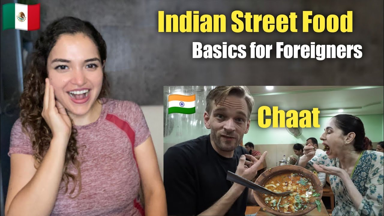 """Indian Street Food """"CHAAT""""  Basics for Foreigners 
